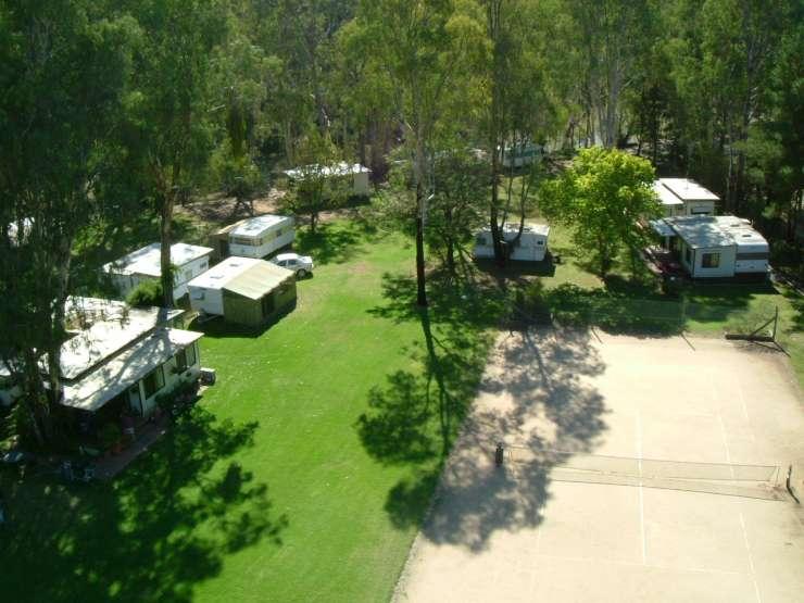 River Bend Caravan Park Echuca - Lower Moira - Murray River